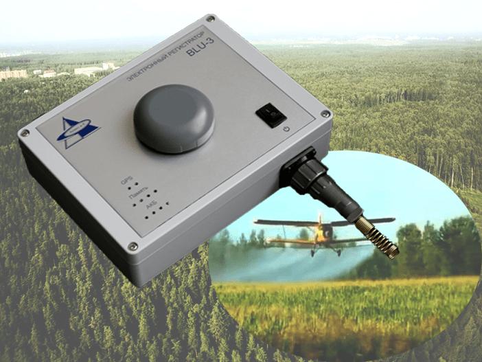 Электронный регистратор BLU-3