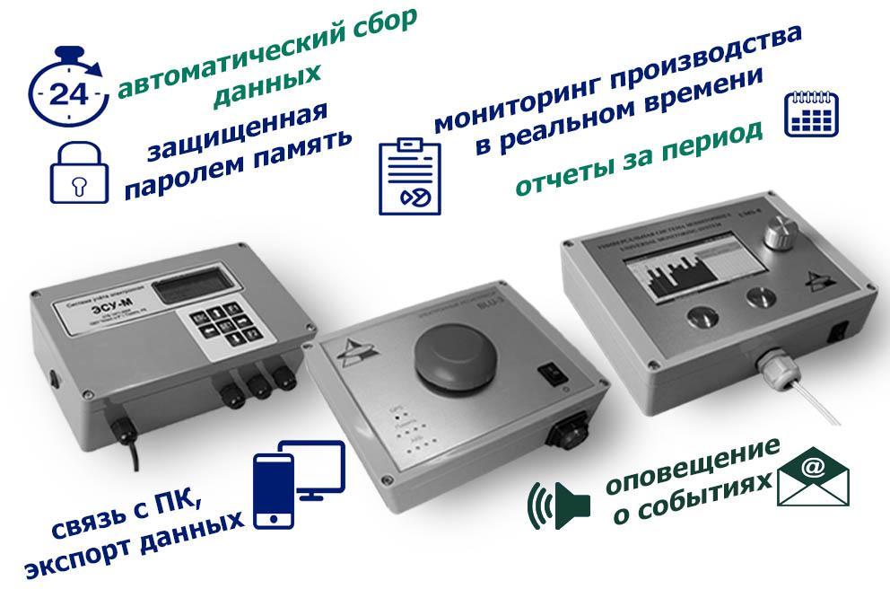 Назначение электронных систем учета и контроля