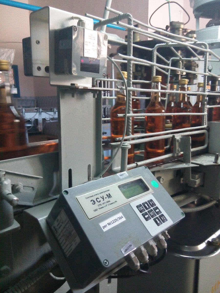 Автоматизированный учет продукции (штучной или в групповой упаковке) на конвейере